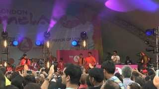 Bally Sagoo at the LONDON MELA 2013