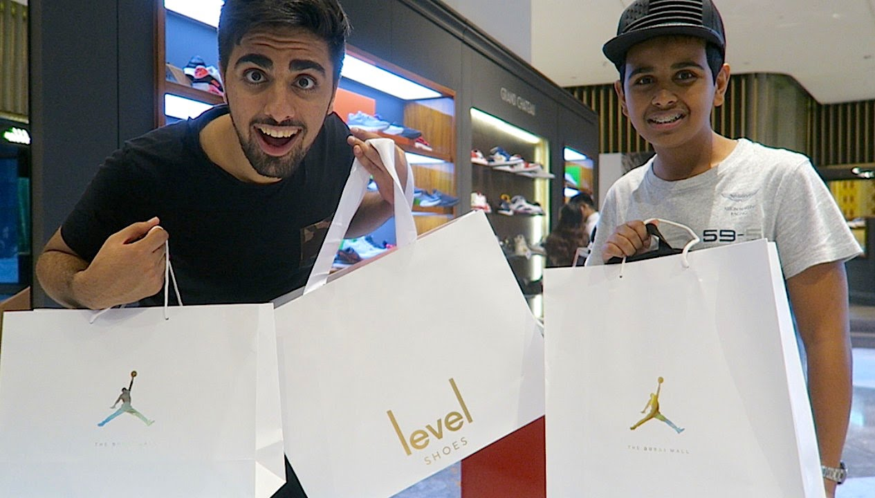 Richest Kid In Dubai >> Shopping With Dubai S Richest Kid Youtube