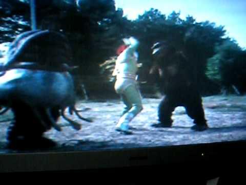 King Kong Vs  Green Man