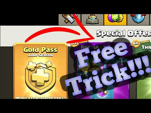 How To Get Free Gold Pass In Clash Of Clans | June 2019