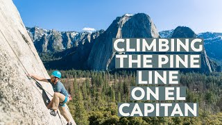 Climbing The Pine Line in Yosemite Valley | VLOG Part 3