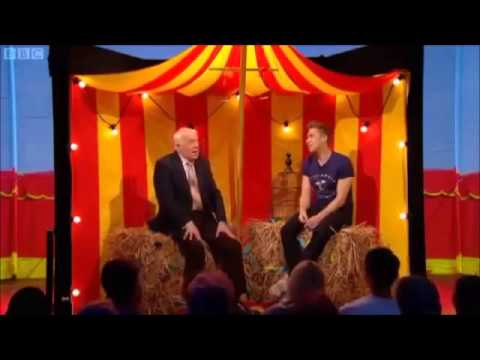 Norman Barrett M.B.E on the Russell Howard show
