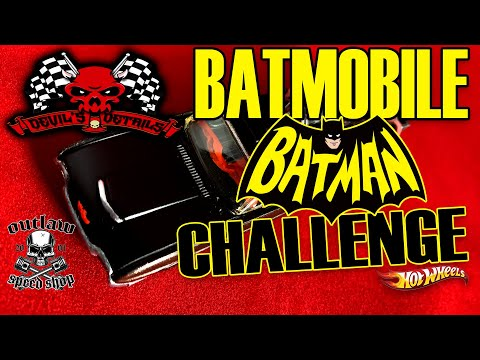Build A Batmobile That Never Was | Devils Details Diecast Challenge Build