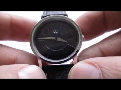 mercedes benz collection wristwatch - youtube