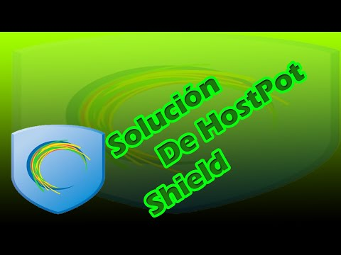 Solución De Error Hostpot Shield   2016   [Error Has detected an internal error]