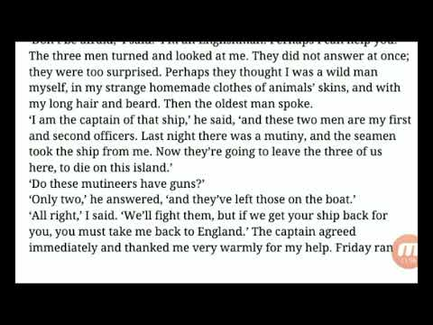 Robinson Chapter 7 Escape from the Island~Learn English Through Story! English Story In Urdu & Hindi