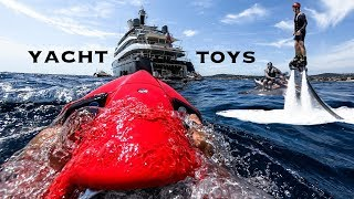 Superyacht Toys | Crew Training Day | Yacht Arience