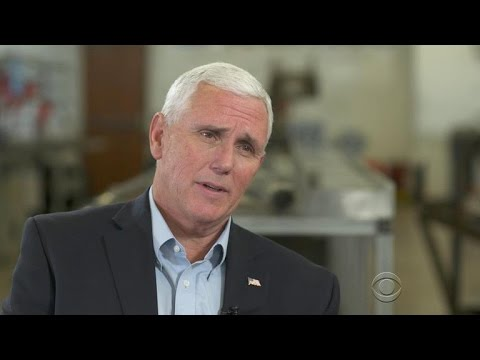 Mike Pence on Donald Trump\'s immigration policy