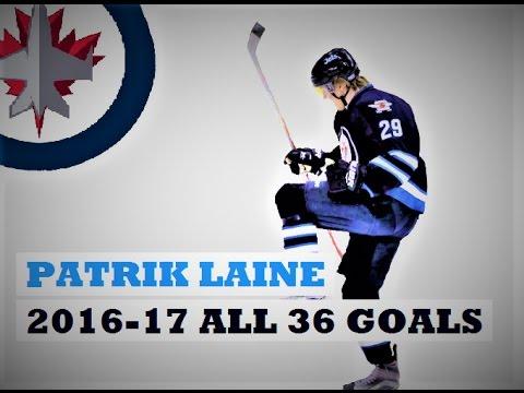Patrik Laine (#29) ● ALL 36 Goals 2016-17 Season (HD)