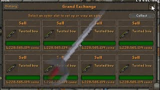 Ghrazi Rapier Stake & Twisted Bow Plantation Attempt! RIDING THE WAVE!