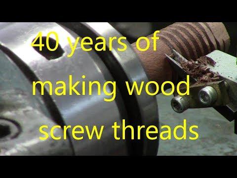 cutting wood screws