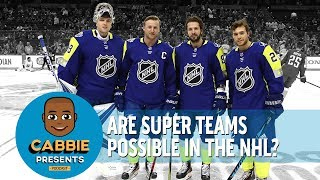 ARE SUPER TEAMS POSSIBLE IN THE NHL - Ryan Getzlaf on Cabbie Presents Podcast