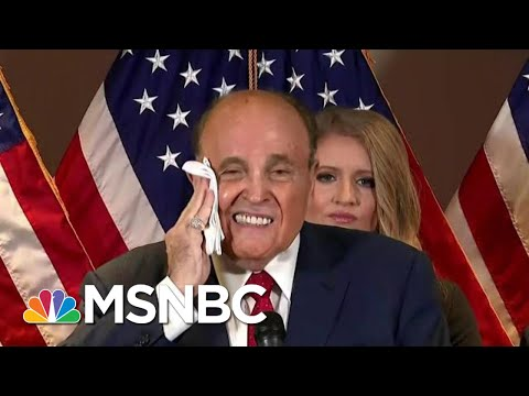 Giuliani Criminal Probe 'Very Active' As Election 'Clown Show' Rolls On | The Beat With Ari Melber