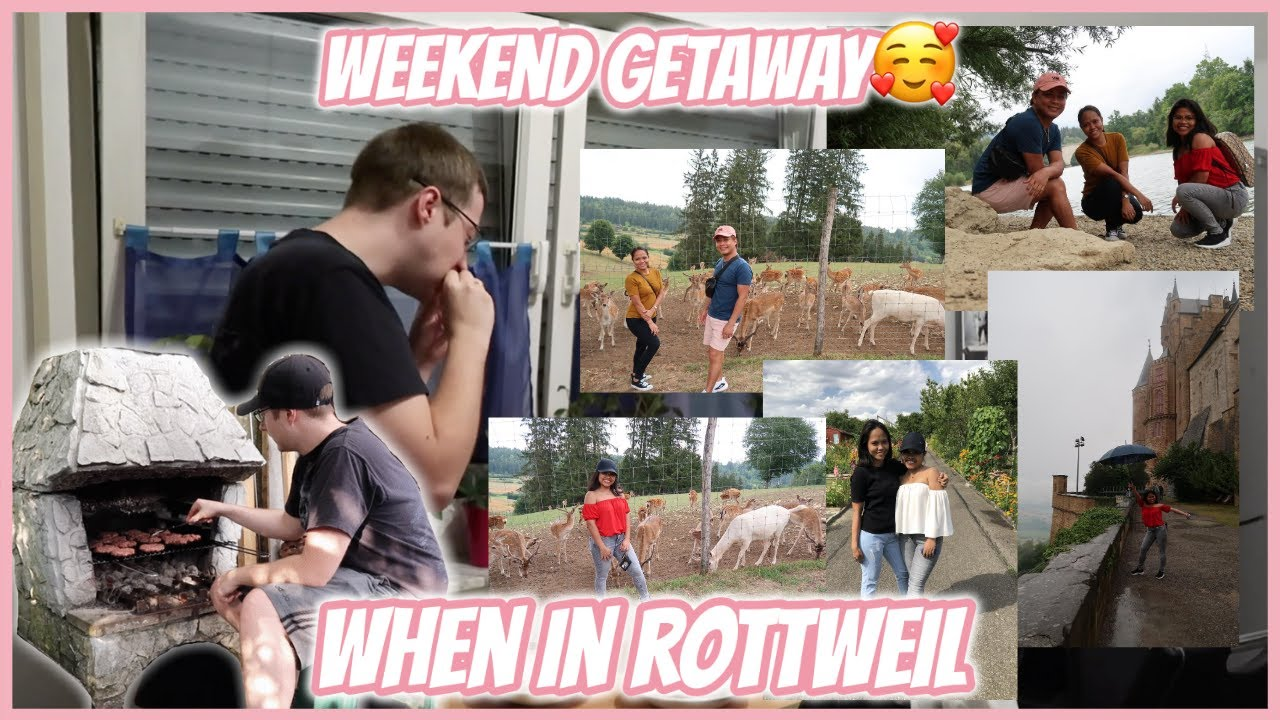 WEEKEND GETAWAY IN ROTTWEIL WITH FRIENDS❤️ | PINAY-GERMAN LIFE IN GERMANY | LIEBE ANN♡