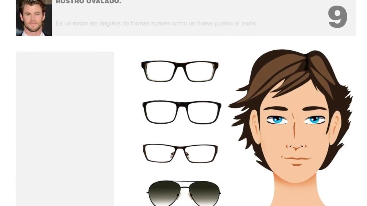 Hombres Gafas Ideales Para Rostros Ovalados Youtube