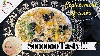 Recipe: Cauliflower Rice - Low Carb Alternative
