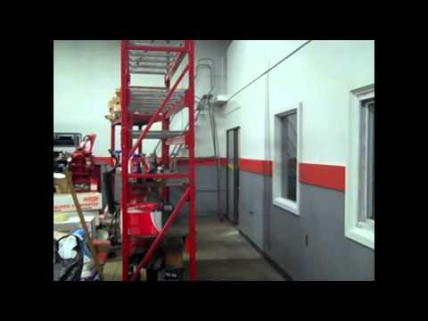Industrial Painting Before And After - A Klein Company | Troy, MI