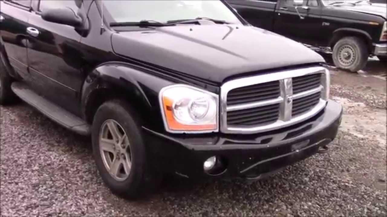 2004 Dodge Durango Junk Yard Start Up And Walk Around Youtube