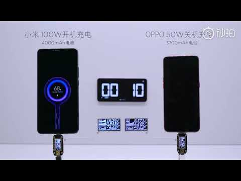 Xiaomi is working on 100W fast charging mass production, claims company president