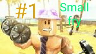 ROBLOX weightlifting simulator 3 small fry