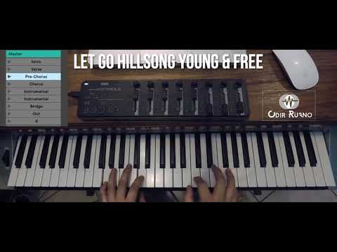 Let Go | Hillsong Young & Free | Odir Ruano | Cover Keyboard