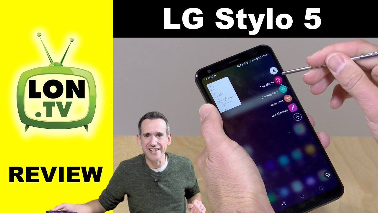 LG Stylo 5 Solid Midrange Smartphone