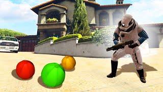 GMOD Prop Hunt In GTA 5 SAFE HOUSE! (Gmod Prop Hunt)