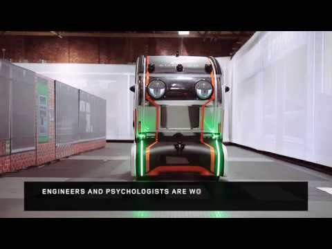 Virtual Eye Pod from Jaguar Land Rover