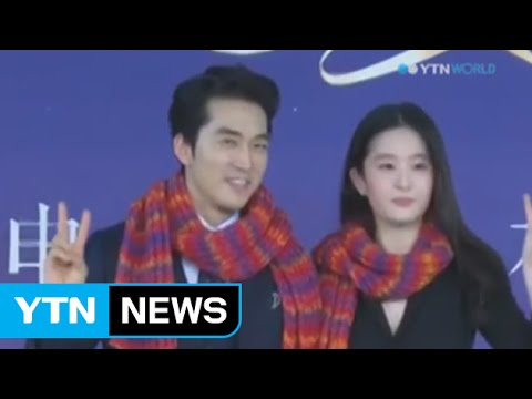 Actor Song Seung-Heon dating Chinese actress Liu Yifei / YTN