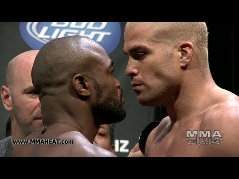 UFC 133: Evans vs Ortiz and Belfort vs Akiyama Weigh-Ins + Face-Offs