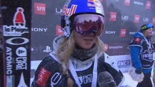 Tess Ledeux - Interview - Font-Romeu Pyrénées 2000