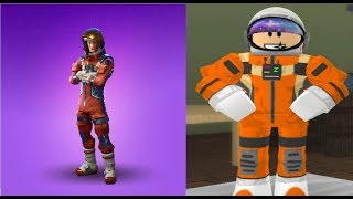 Roblox How To Be Mission Specialist From Fortnite In (Roblox)