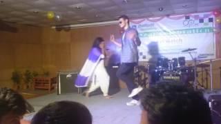 Tui amar hero ||Daffodil international university 1st year celebration dance(Nadim & jol)