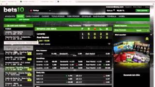 Bets10 bahis sitesinde nasıl canlı bahis oynanır - Bahistokrat.com