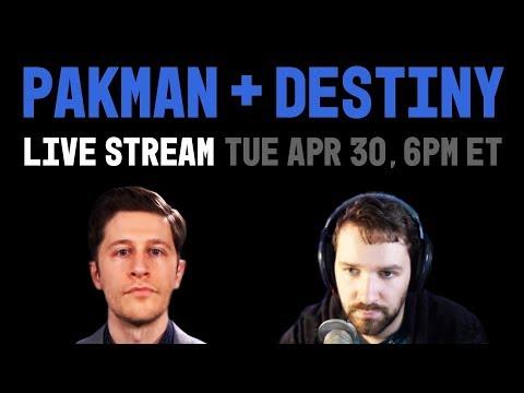 LIVE Pakman vs. Destiny: Free Speech, De-Platforming, Ad Boycotts