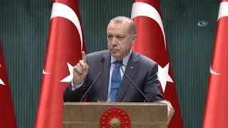 """Cumhurbaşkanı Erdoğan: """"Petrol Zengini Müslüman Ülkelere Sesleniyorum!"""""""