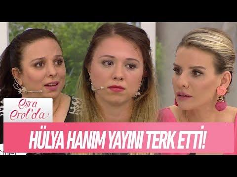 Hülya Hanım yayını terketti! - Esra Erol'da 3 Mayıs 2018