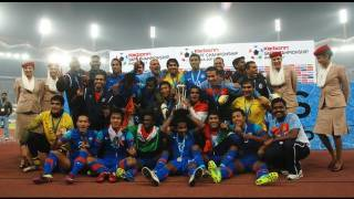 Final: India vs Afghanistan (Highlights) SAFF Championship 2011