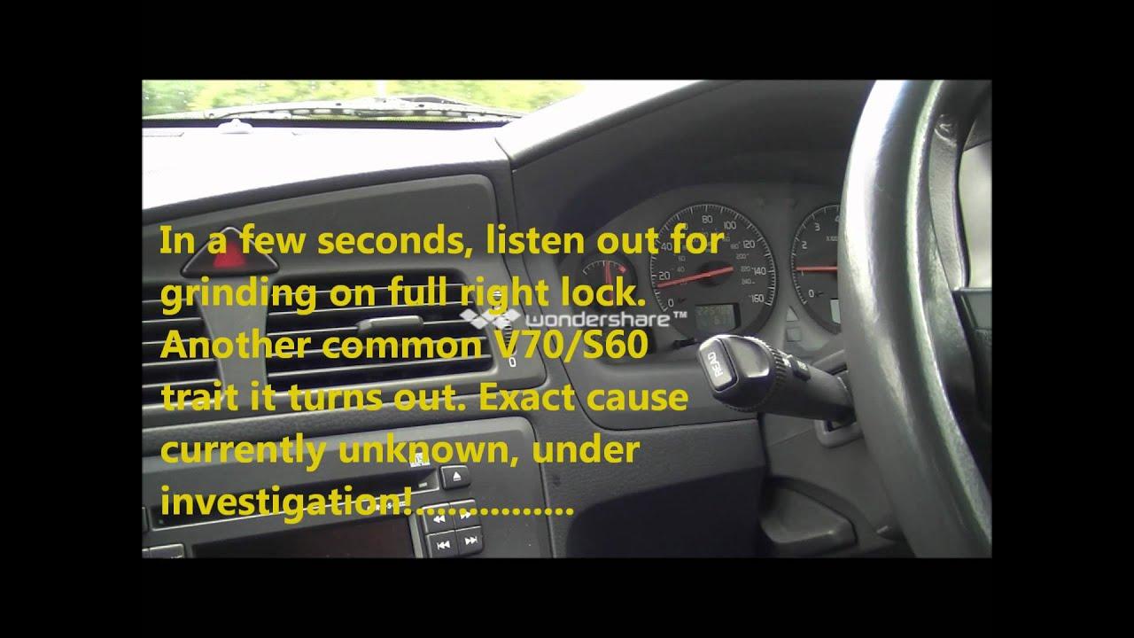 Volvo V70 T5 Engine Misfire - YouTube