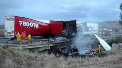 Truck Accident Pictures. Truck Crash, Wreck Photos