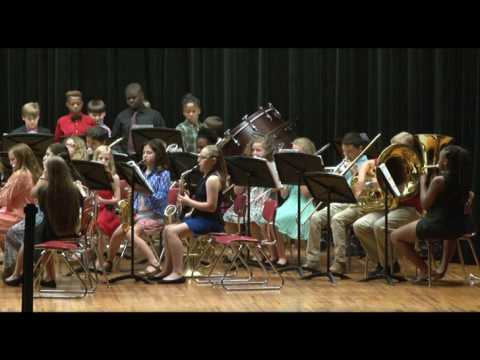Brewton Middle School Spring Concert 2017