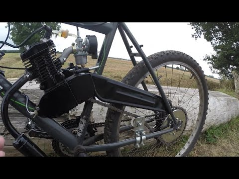 How To Install Your 2-Stroke 80cc Bicycle Engine Kit 66cc 48cc 50cc