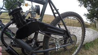 2-Stroke Bicycle Engine Kit 80cc *Dangerous* How to Install