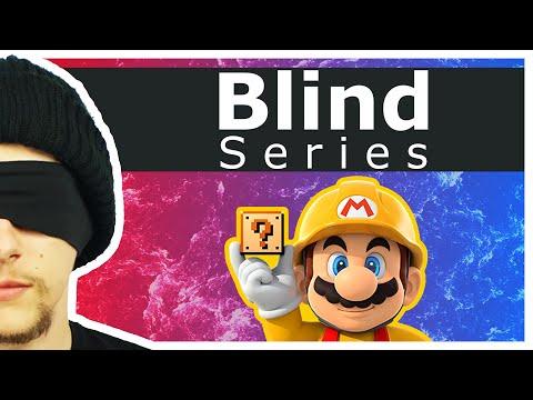 DON'T LOOK! - Super Mario Maker: Blindfold Challenge