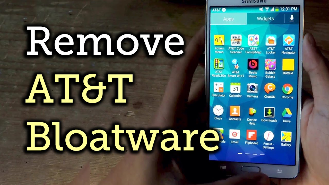 Get Rid of Most of the Annoying Bloatware on the AT&T Samsung Galaxy Note 3  [How-To]