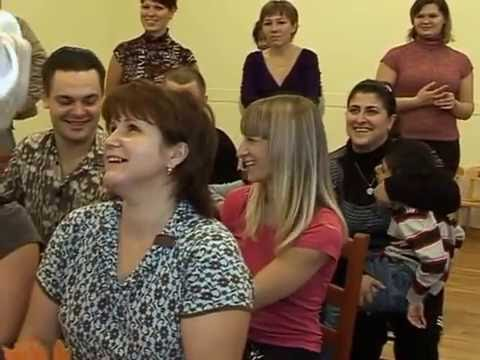 Весёлая игра с родителями (Видео Юлии Корзан)
