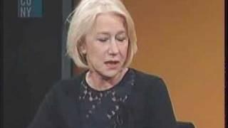 Helen Mirren Times Talk Pt4
