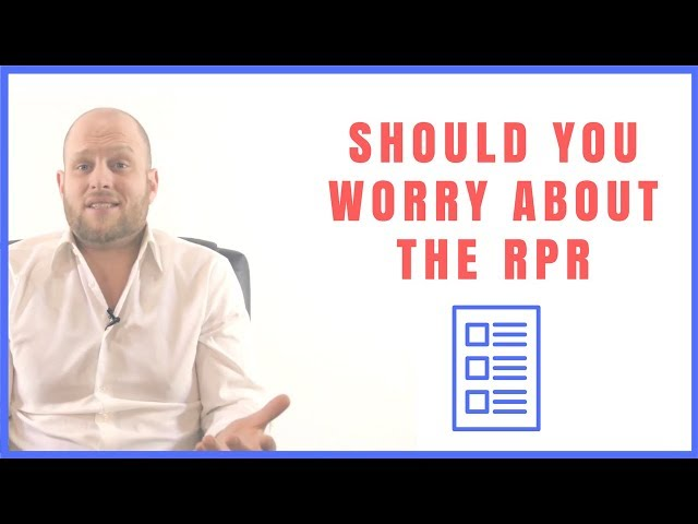 Should You Worry About the RPR