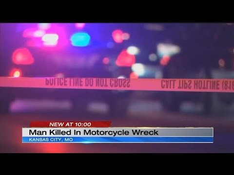 Deadly motorcycle crash in Kansas City claims man's life