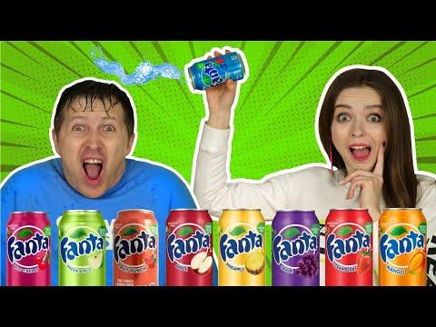 Угадываем Вкус Fanta! ОТГАДАЙ или СТРАДАЙ! 🐞 Эльфинка
